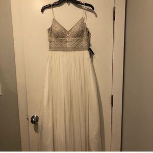 White Evening Gown BHLDN